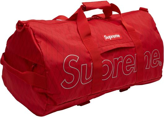 Picture of Supreme Duffle (FW18) Red