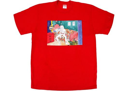 Picture of Supreme Bedroom Tee Red