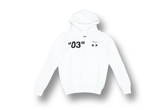 Picture of OFF-WHITE For ALL 03 Hoody White