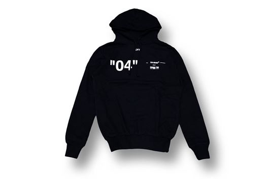 Picture of OFF-WHITE For ALL 04 Hoody Black