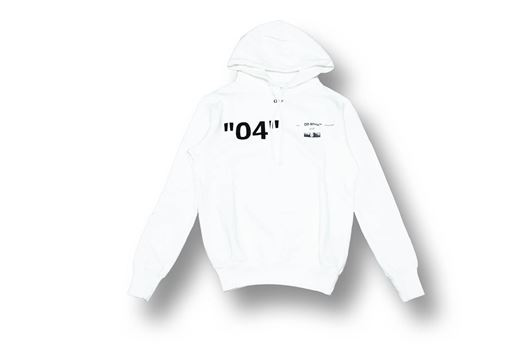 Picture of OFF-WHITE For ALL 04 Hoody White