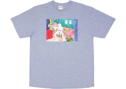 Picture of Supreme Bedroom Tee Heathey Grey
