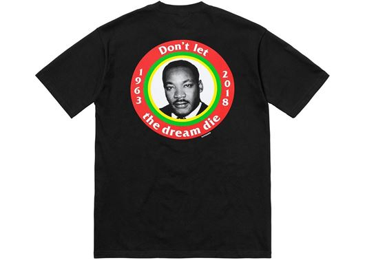 Picture of Supreme MLK Dream Tee Black