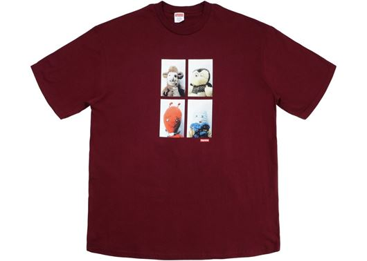 Picture of Supreme Mike Kelley AhhYouth! Tee Burgundy