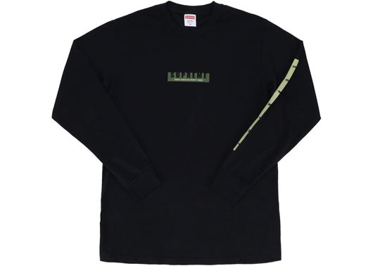 Picture of Supreme 1994 LS Tee Black