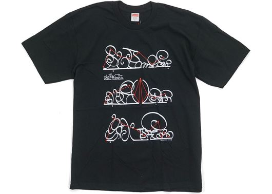 Picture of Supreme System Tee Black