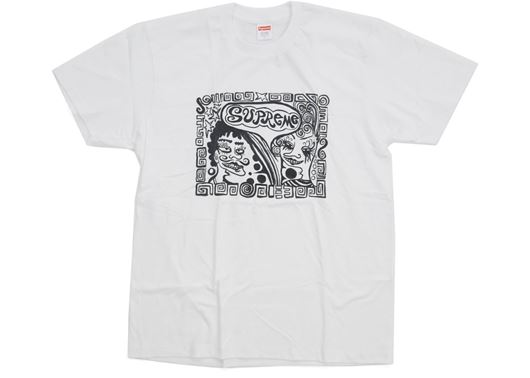 Picture of Supreme Faces Tee White