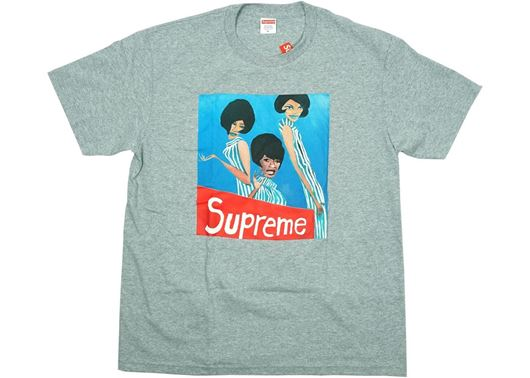 Picture of Supreme Group Tee Heather Grey