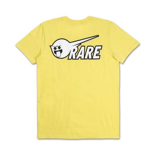 Picture of RARE GHOST TEE Yellow