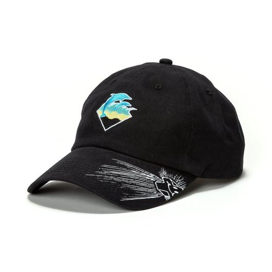 Picture of WAVES DRIP SNAPBACK Black