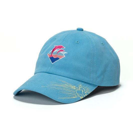 Picture of WAVES DRIP SNAPBACK Blue