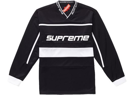 Picture of Supreme Warm Up Hockey Jersey Black