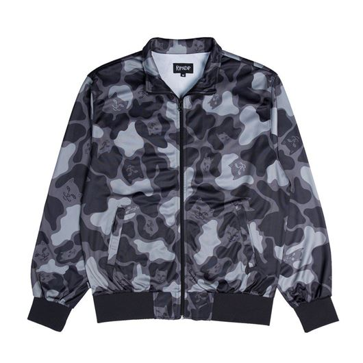 Picture of Nerm Camo Track Jacket Blackout Camo