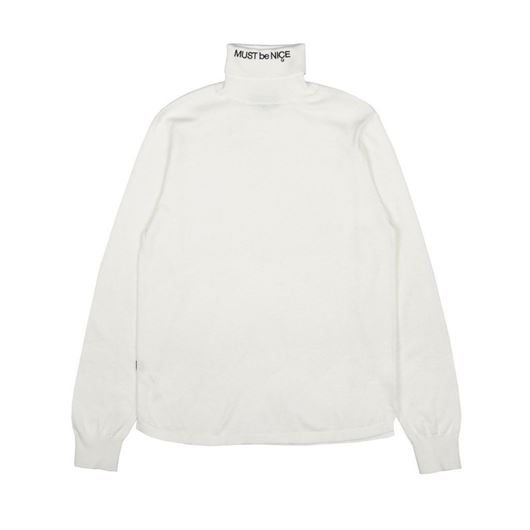 Picture of MBN Turtleneck White