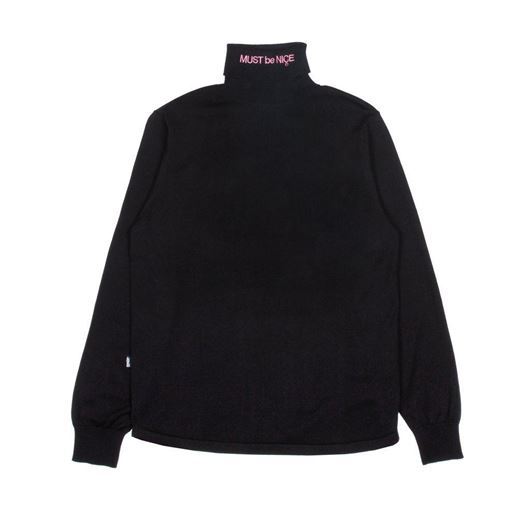 Picture of MBN Turtleneck Black