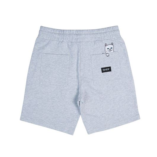 Picture of Peeking Nerm Sweat Shorts Heather Grey