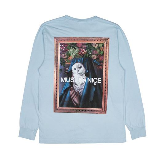 Picture of Mother L/S Baby Blue