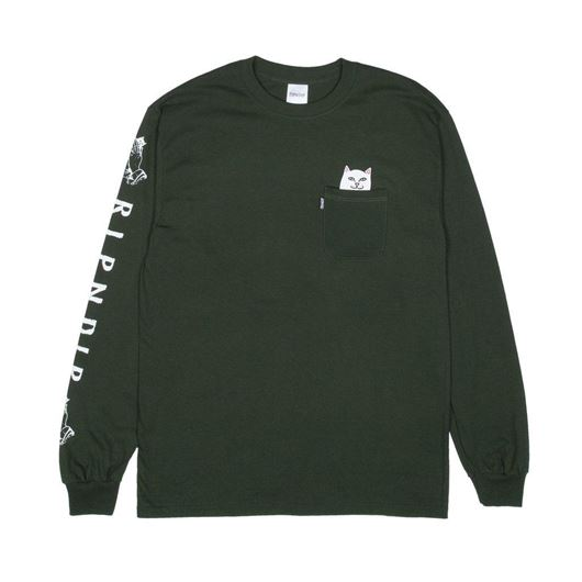 Picture of Lord Nermal L/S Hunter Green