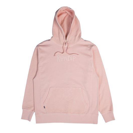 Picture of Tonal Loopback Pullover Sweater Pink