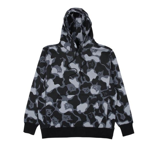Picture of Nerm Camo Pullover Sweater Blackout Camo