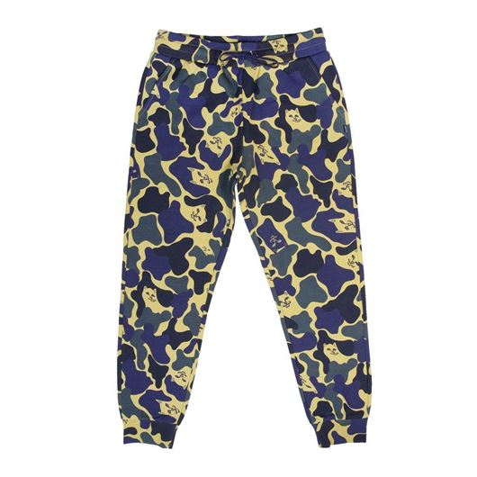 Picture of Nerm Camo Track Pants Tropic Camo