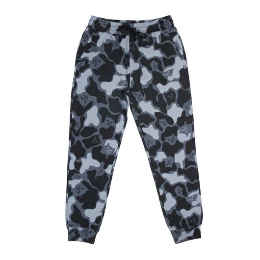 Picture of Nerm Camo Track Pants Blackout Camo
