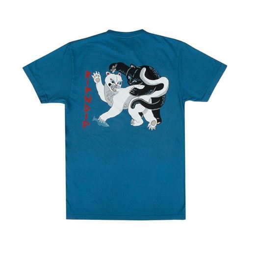 Picture of Brawl Tee Harbor Blue