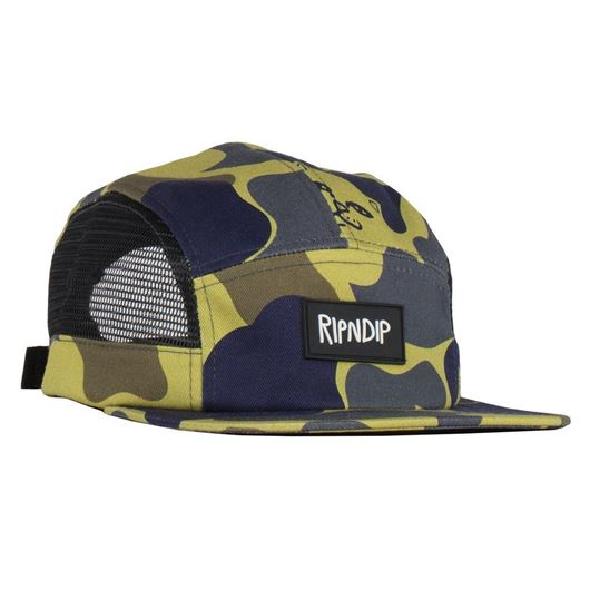 Picture of Nerm Camo 5 Panel Hat Mesh Sides  Tropic Camo