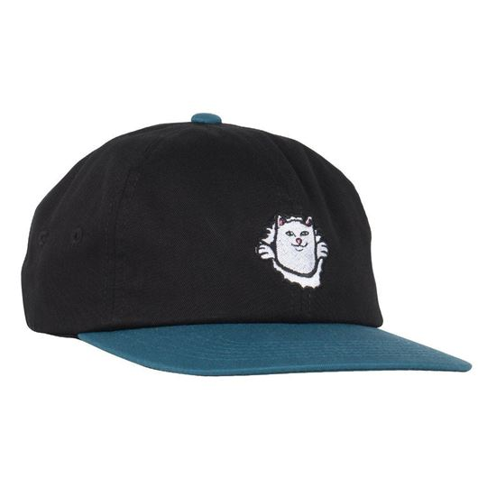 Picture of Nermamaniac 6 Panel Strap Back Black / Blue