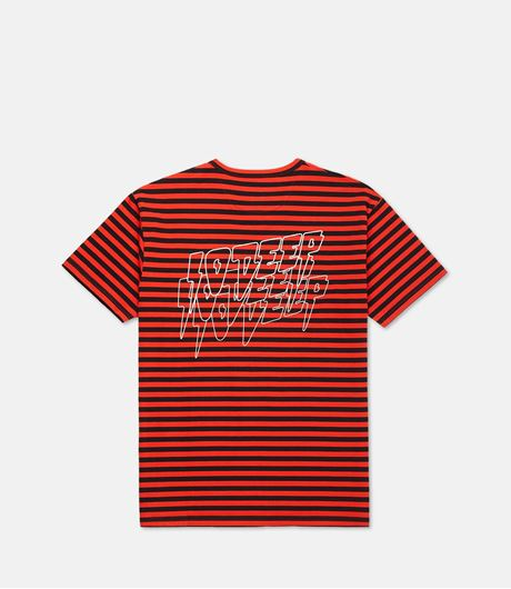 Picture of SND & FRY STRIPE Tee Red