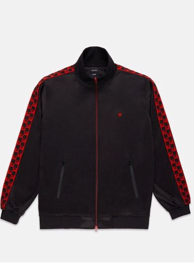 Picture of CHECKERD Track Jacket Black
