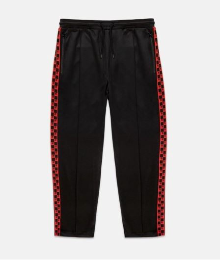 Picture of CHECKERD Track Pant Black