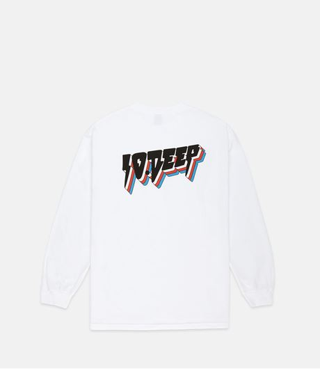Picture of ALL THE LIGHTS L/S White