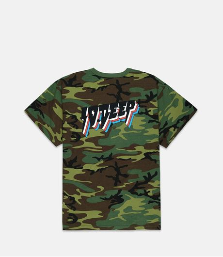 Picture of ALL THE LIGHTS S/S Woodland Camo