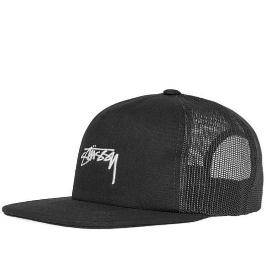 Picture of STOCK FOAM TWILL TRUCKER CAP Black