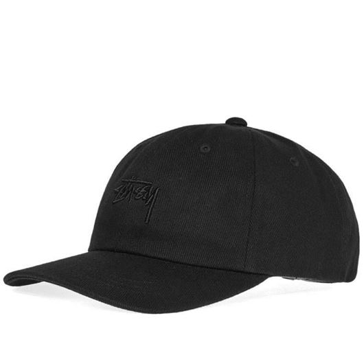 Picture of STOCK BIG TWILL LOW PRO CAP Black