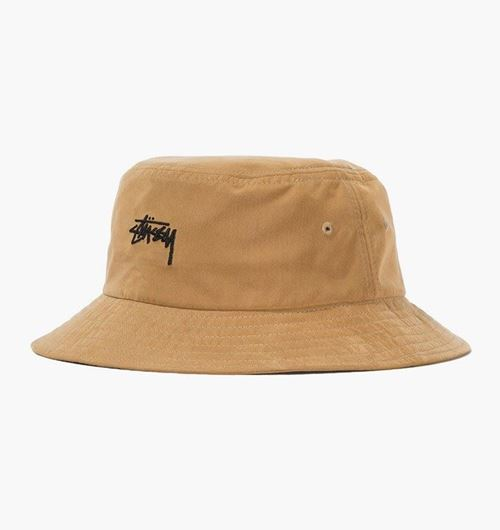 Picture of STOCK BUCKET HAT Camel