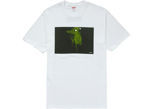 Picture of Supreme Chris Cunningham Chihuahua Tee White