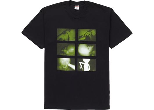 Picture of Supreme Chris Cunningham Rubber Johnny Tee Black