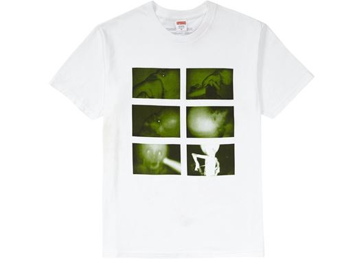 Picture of Supreme Chris Cunningham Rubber Johnny Tee White