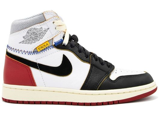 Picture of Jordan 1 Retro High Union Los Angeles Black Toe