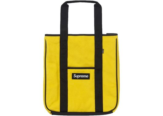 Picture of Supreme Polartec Tote Yellow