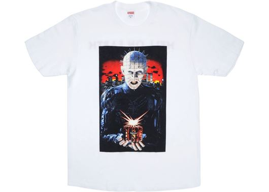 Picture of Supreme Hellraiser Hell on Earth Tee White