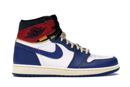 Picture of Jordan 1 Retro High Union Los Angeles Blue Toe