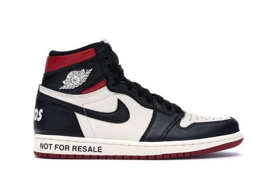 "Picture of Jordan 1 Retro High ""Not for Resale"" Varsity Red"