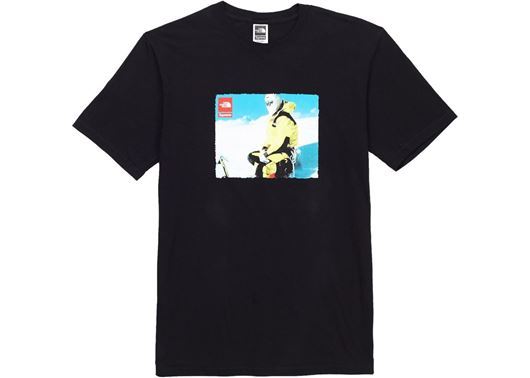 Picture of Supreme The North Face Photo Tee Black