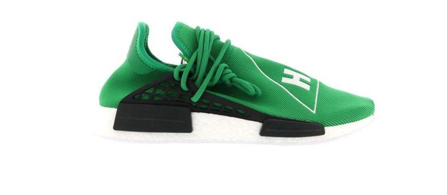 brand new e10cb 14198 adidas NMD R1 Pharrell HU Green