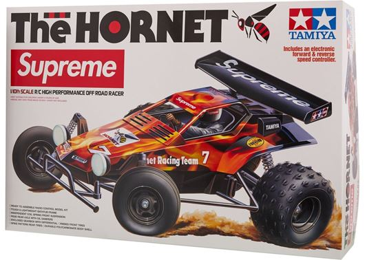 Picture of Supreme Tamiya Hornet RC Car Flames