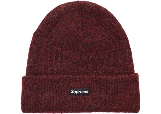 Picture of Supreme Mohair Beanie (FW18) Burgundy