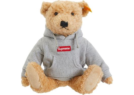 Picture of Supreme Steiff Bear Heather Grey